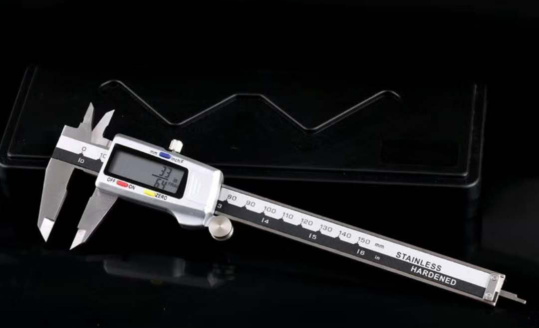 Fraction Digital Caliper Metal Casing 079